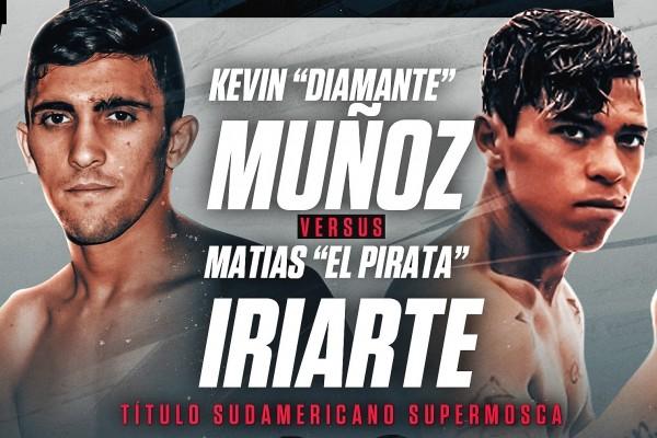 Kevin Luis Munoz vs Matias Emanuel Iriarte Monserrat en Vivo – Box – Sábado 3 de Abril del 2021