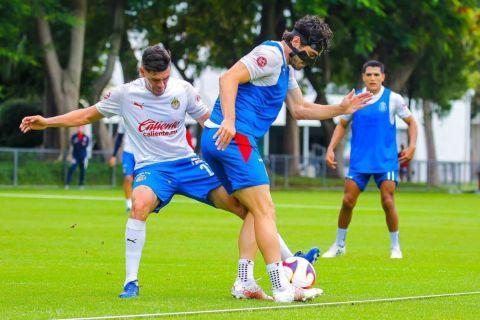 Chivas entrena nuevamente en Valle Verde