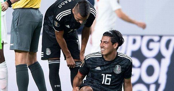 Erick Gutiérrez es baja de la Selección Mexicana en Copa de Oro