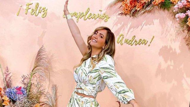 Felicitan a Andrea Legarreta en su cumpleaños 49