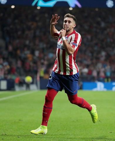 Héctor Herrera anota en su debut con el Atlético de Madrid  en Champions League