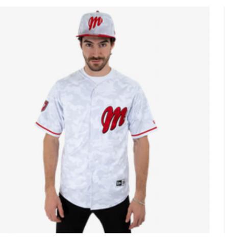 Uniforme Blanco Diablos Rojos de México hombre