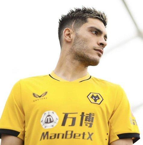 Raúl Jiménez  jugo 30 minutos con los Wolverhampton!