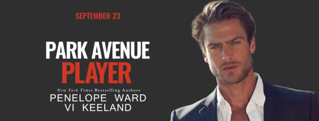 Cover Reveal: Park Avenue Player by Penelope Ward and Vi Keeland