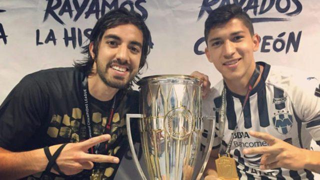 Rodolfo Pizarro y Ángel Zaldívar, bicampeones de la Concachampions