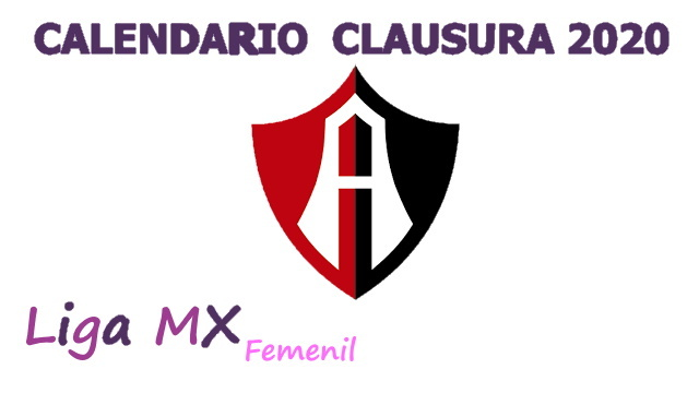 Calendario Atlas Femenil – Clausura 2020