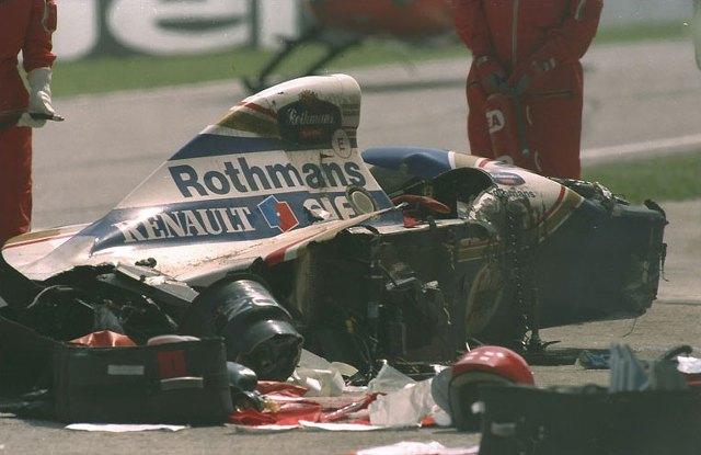 F1 1994 San Marino GP Ayrton Senna Crash