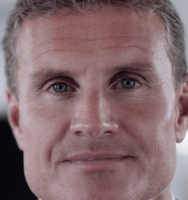 Someone found the David Coulthard's son...