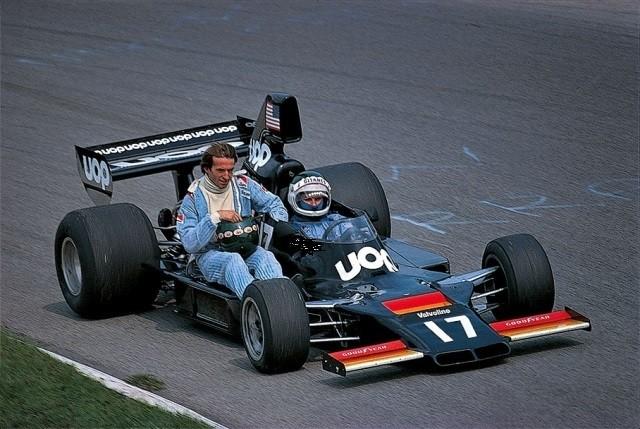 GP da Itália de 1975: o francês Jean-Pierre Jarier e o francês Jacques Laffite