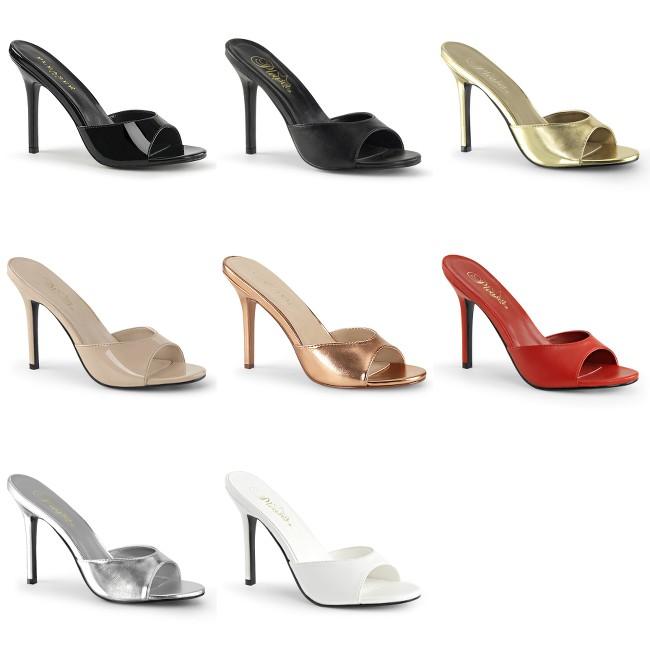 PLEASER Classique-01 Slides Mules 4
