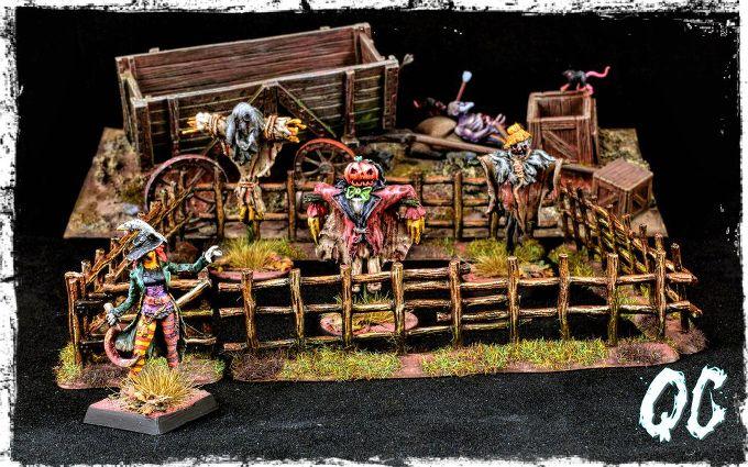 Autumn the Scarecrone - Bombshell Miniatures & Scarecrows - Ristuls Extraordinary Market by Quidam Corvus