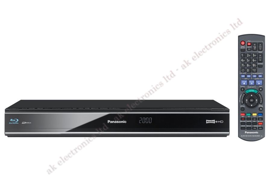 Details about Panasonic Multiregion DMR-PWT420 3D BluRay 500GB HDD Twin  Freeview HD Recorder