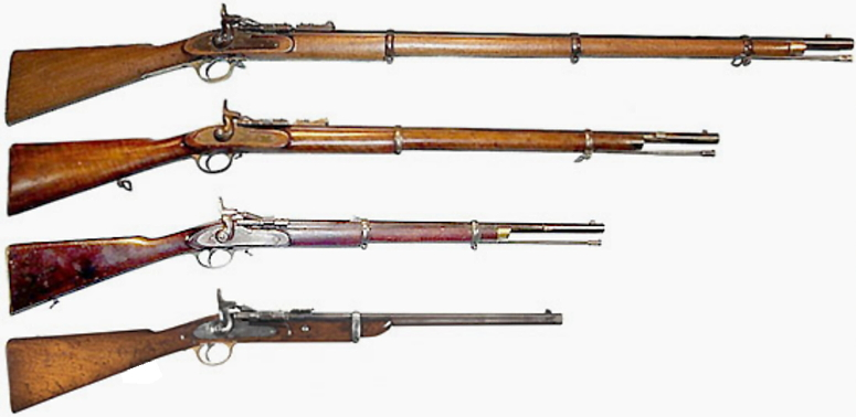 2 Band Enfield Rifle
