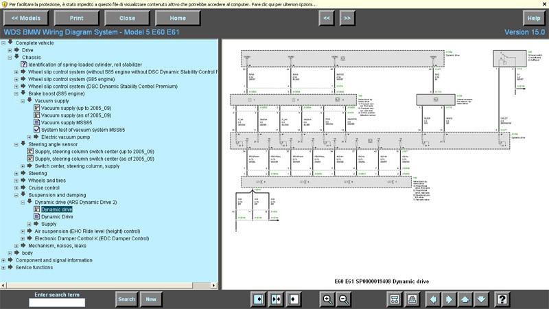 Bmw Wds V 15 0 03  2009 Wiring Diagram System