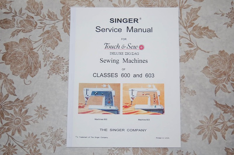 Professional Full Edition Service Repair Manual for Singer 604 Sewing Machines.