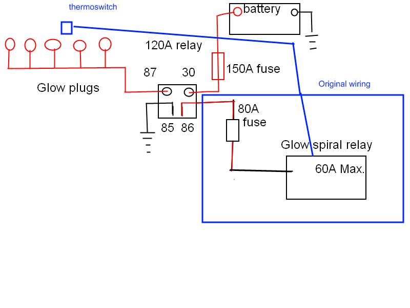 1985 Mercedes Glow Plug Wiring Diagram Wiring Diagram Hold Hold Mukura Fr