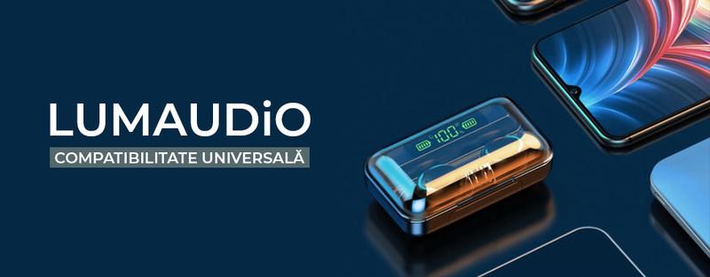 Ultima versiune Bluetooth 5.0. Conexiune rapida si stabila