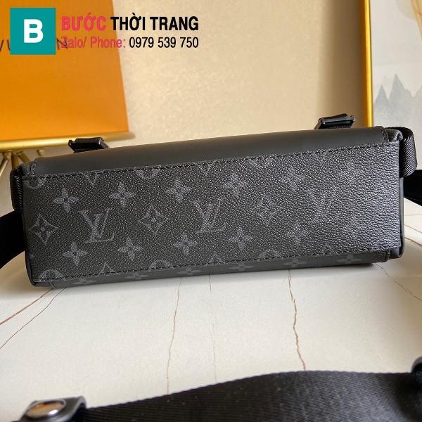 Túi Louis Vuitton Messenger PM Voyager siêu cấp màu đen size 32 cm - M40511