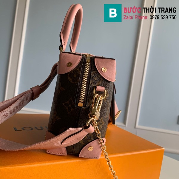 Túi xách Louis Vuitton Locky BB siêu cấp màu hồng size 20 cm - M48818