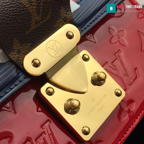 Túi xách LV Louis vuitton Wynwood Shoulder siêu cấp màu đỏ size 21 cm - M90442