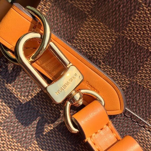 Túi xách LV Louis Vuitton Neo Noe siêu cấp caro màu vàng cam size 26cm - N40214