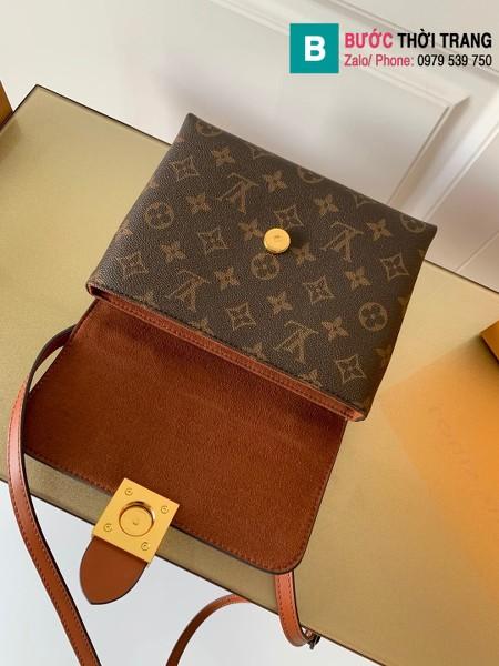 Túi xách Louis Vuitton Locky BB siêu cấp da bò màu bò size 20 cm - M44654