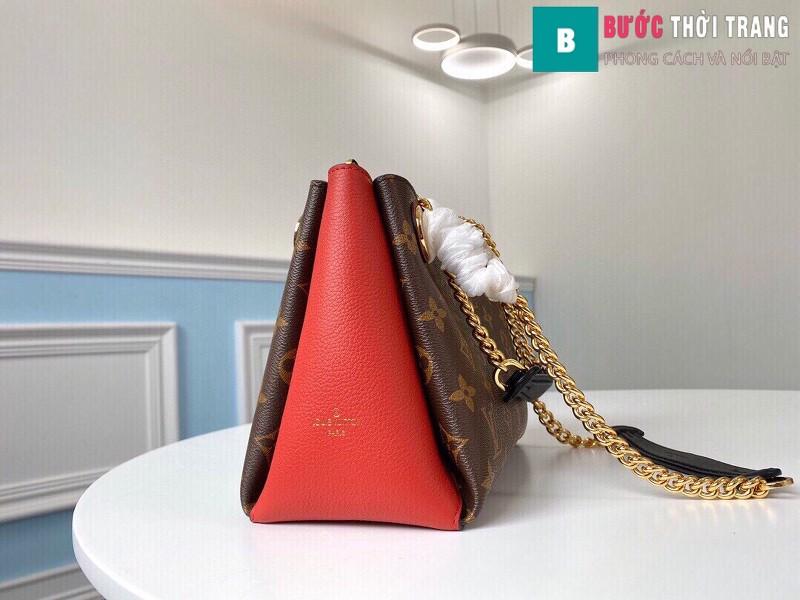 Túi xách LV LOUIS VUITTON Surene BB Chain Shoulder Bag siêu cấp màu đỏ size 24cm - M 43776