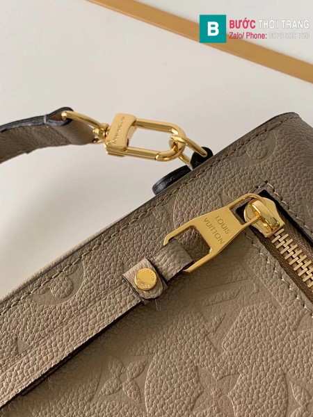 Túi Louis Vuitton Pochette Mettis siêu cấp màu xám size 25 cm - M41487
