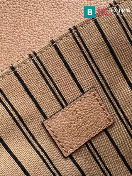 Túi Louis Vuitton Pochette Mettis siêu cấp màu da size 25 cm - M41487