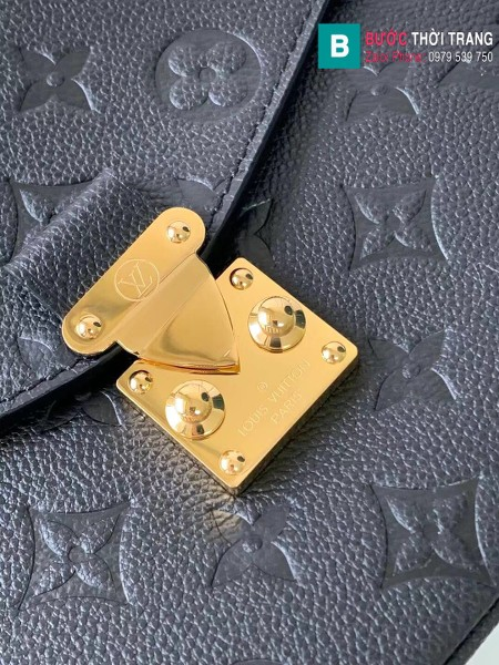 Túi Louis Vuitton Pochette Mettis siêu cấp màu đen size 25 cm - M41487