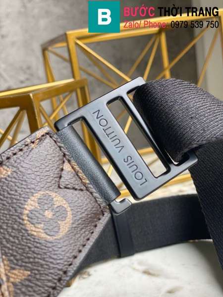 Túi xách Louis Vuitton S Lock Sling Bag siêu cấp monogram viền vàng size 21cm - M45864