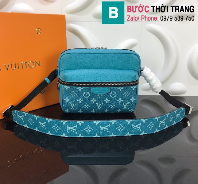 Túi Louis Vuitton Outdoor Messenger siêu cấp màu za nhạt size 25cm - M30233