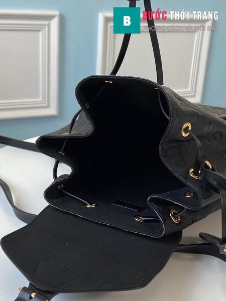 Túi Xách LV Louis Vuitton Montsouris Backpack màu đen size27.5 cm - M45205