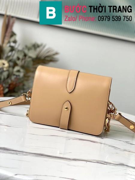 Túi xách LV Louis Vuitton Rendez-Vous Bag siêu cấp da bê màu nude size 22cm - M57745