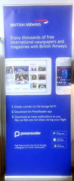 BA trialling PressReader for its customers - FlyerTalk Forums