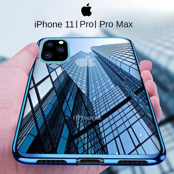 CUSTODIA per APPLE IPHONE 11 PRO MAX (6.5') IN TPU SILICONE ROSSO