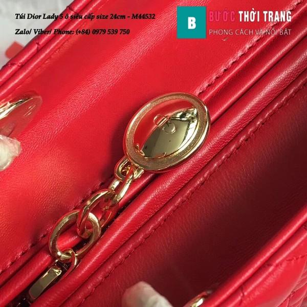Túi Dior Lady 5 ô siêu cấp size 24cm
