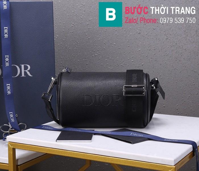 Túi xách Dior Roller Oblique Messenger Bag siêu cấp da bê màu 2 size 21.3cm - 93304