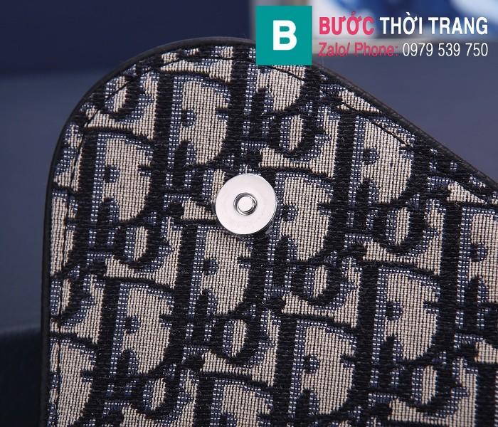 Túi xách Dior Saddle Bag {túi yên ngựa} siêu cấp vải canvas màu 1 size 20 cm