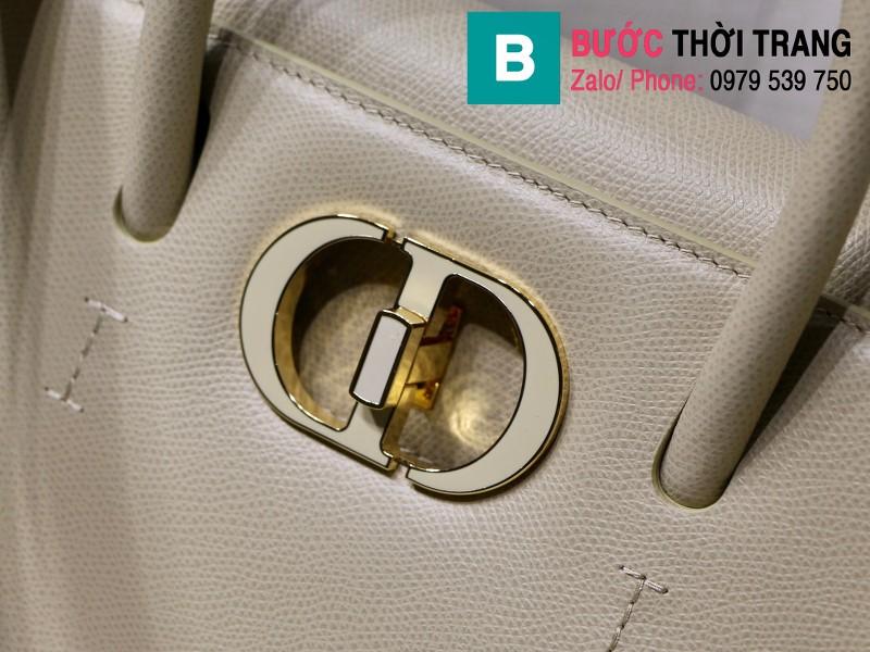 Túi xách Dior St. Honoré Bag siêu cấp da bê màu galet size 25cm