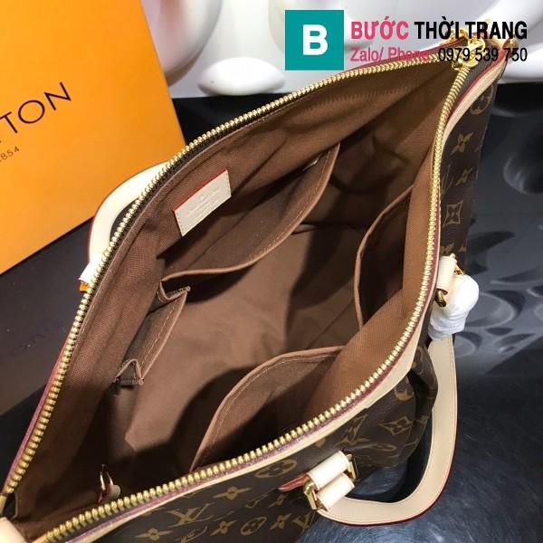 Túi Louis Vuitton Handbag Palermo PM Monogaram siêu cấp màu nâu size 37cm - M40145