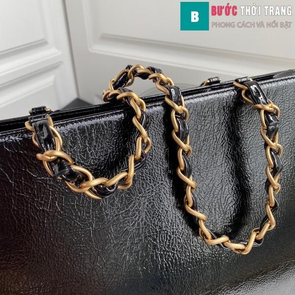 Túi xách Chanel Shopping bag siêu cấp màu đen size 37 cm - AS1943