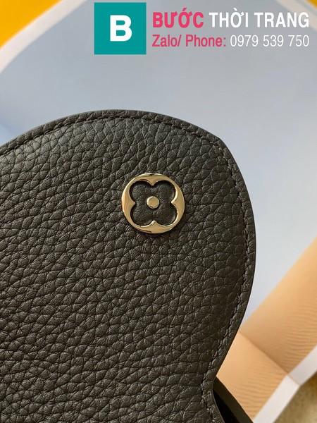Túi xách LV Louis Vuitton Capucines Bag siêu cấp da bê màu đen size 31cm - M92800