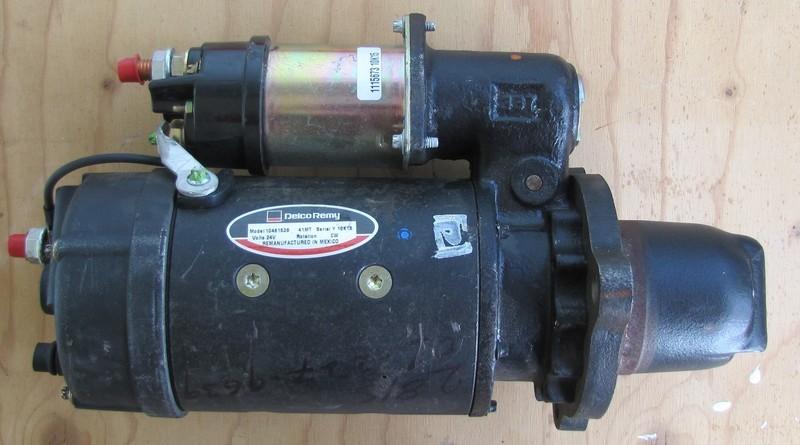 Heavy Duty Diesel DELCO STARTER 41MT 12 TEETH DRIVE 24V 10461528
