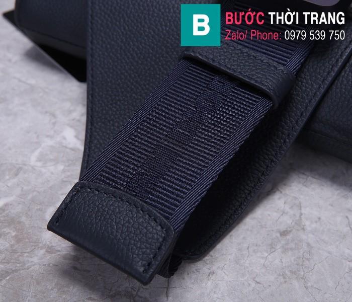 Túi xách Dior Saddle Bag {túi yên ngựa} siêu cấp da bê màu đen size 20 cm