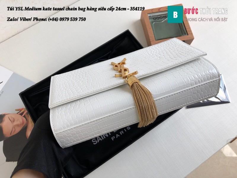 Túi YSL Medium kate tassel size 24cm - 354119