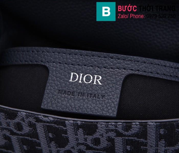 Túi ba lô Dior Homme Oblique siêu cấp vải casvan màu 3 size 19cm - 93313