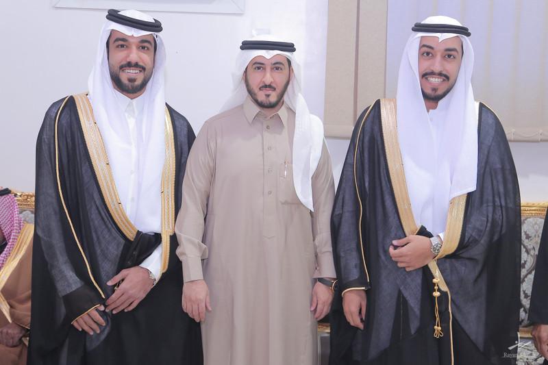 أفراح الشبرمي والعودة (زواج عبدالله