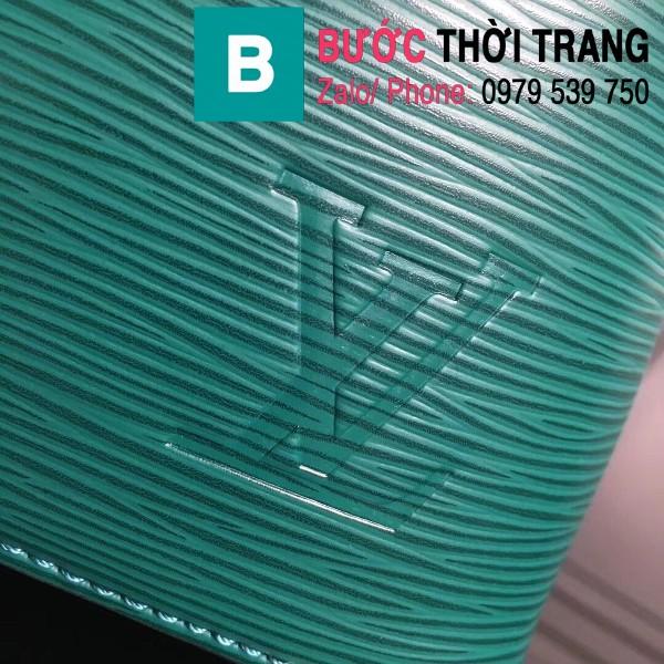 Túi xách LV Louis Vuitton NéoNoé BB Bag siêu cấp da sần màu xanh size 20cm - M52853