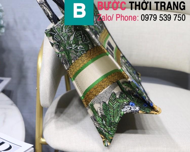 Túi xách Dior Book Tote siêu cấp chất liệu vải casvan màu 9 size 36.5cm - M1286